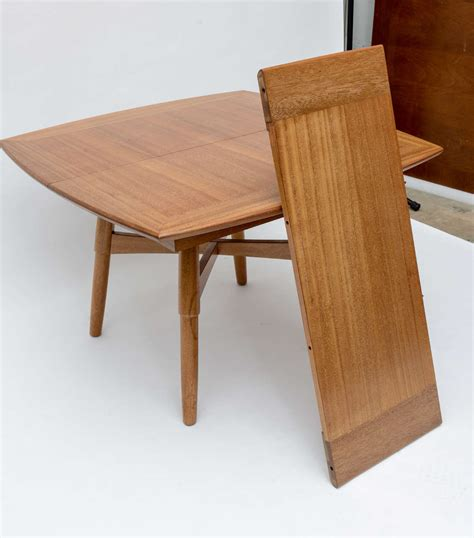 Brown Dining Table And Chairs Keal For Brown Saltman Dining Table And Chairs At 1stdibs
