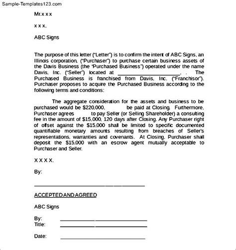 Agreement Letter Format For Business business agreement sle letter the best letter sle