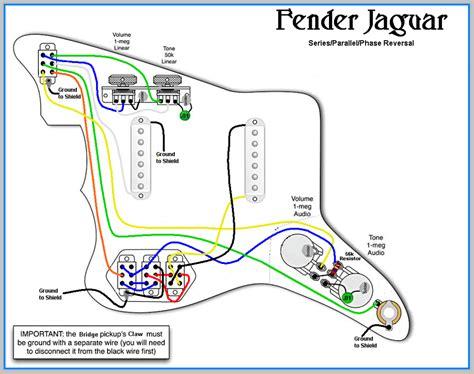 fender jaguar wiring diagrams fender mustang wiring