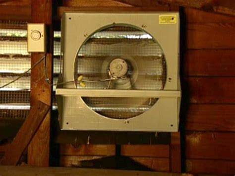 how to replace attic fan how to install a solar powered attic fan how tos diy
