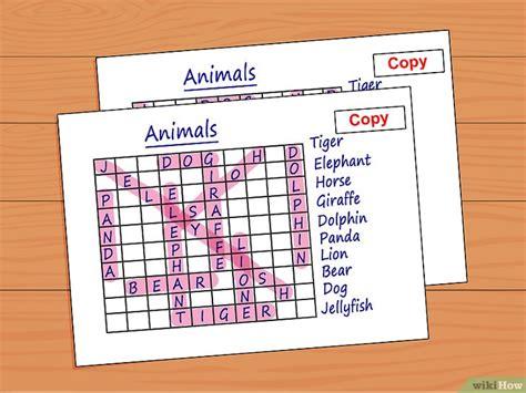 crea parole con lettere 3 modi per creare le parole intrecciate wikihow