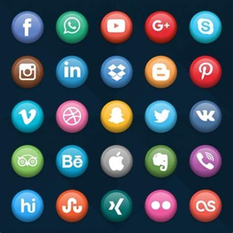 colecci 243 n de logos de redes sociales populares impresas en driblar fotos y vectores gratis