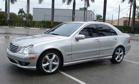 sell used mercedes c230 kompressor silver 2005 in