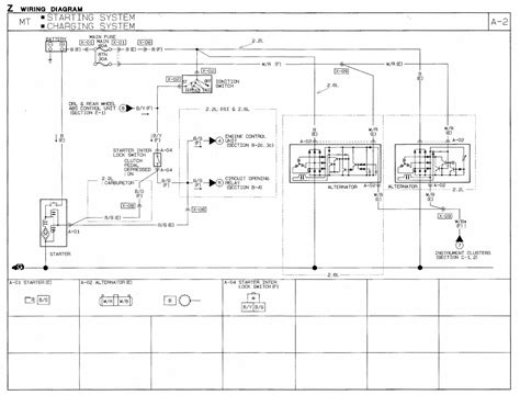 mazda alternator wiring diagram mazda free engine image