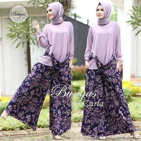 Kulot Ribbon Jersey zarla by bungas ungu