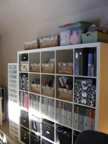 ikea craft room storage i like the 5x5 expedit i can see using this for our craft