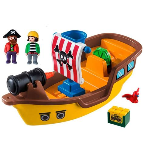 barco pirata playmobil playmobil 1 2 3 barco pirata