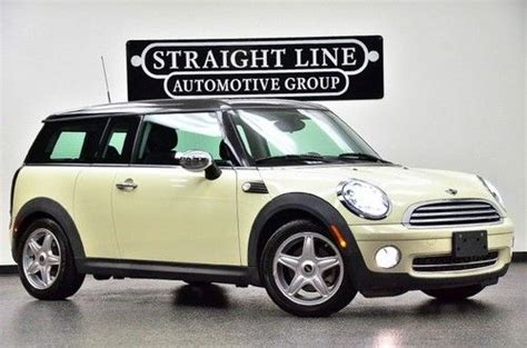 manual cars for sale 2008 mini cooper clubman instrument cluster find used 2008 mini cooper clubman leather manual in dallas texas united states for us 14 777 00
