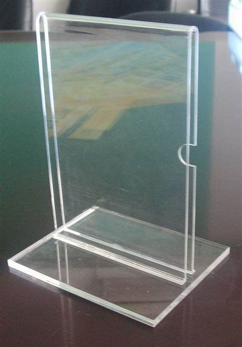 acrylic stand plastic stand clear acrylic riser stand photo display collectible figure china plates