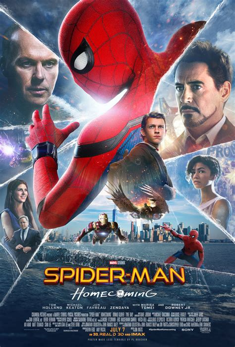 film 2017 version française spider man homecoming improved version by themadbutcher on
