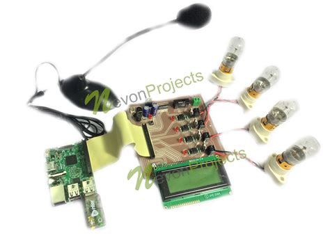 speech controlled home automation using raspberry pi