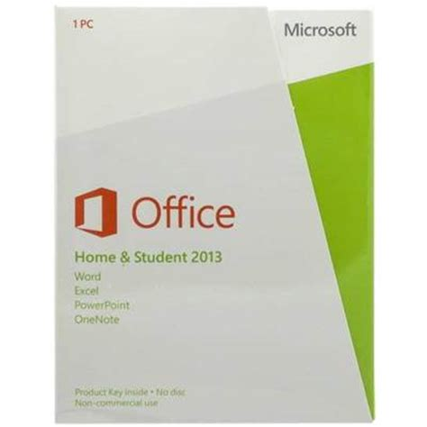 Microsoft Office Home And Student 2013 1pc microsoft office home and student 2013 product key card 1 pc