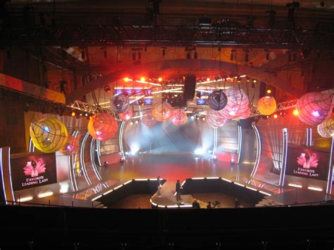 design contest reality show impact video takes barco led on stage for the 31st people