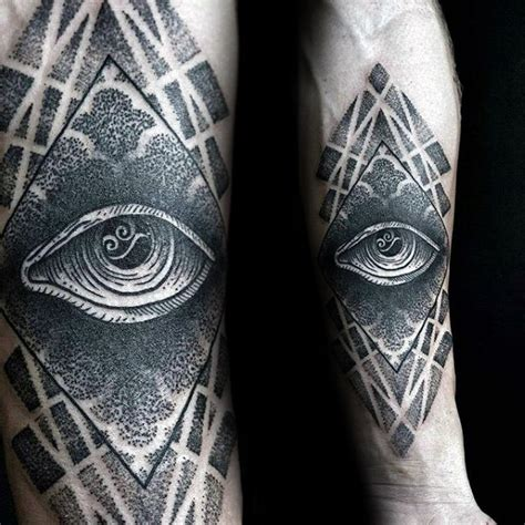 geometric tattoo eye 60 eye of providence tattoo designs for men manly ink ideas