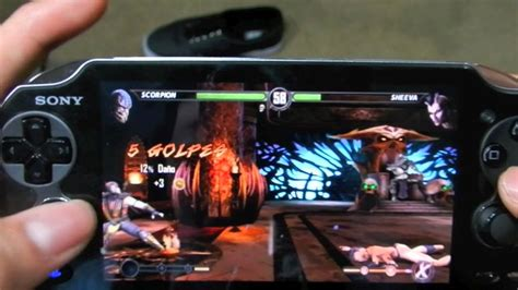 Psvita Mortal Kombat By Waroengame jugando mortal kombat ps vita gameplay espa 241 ol