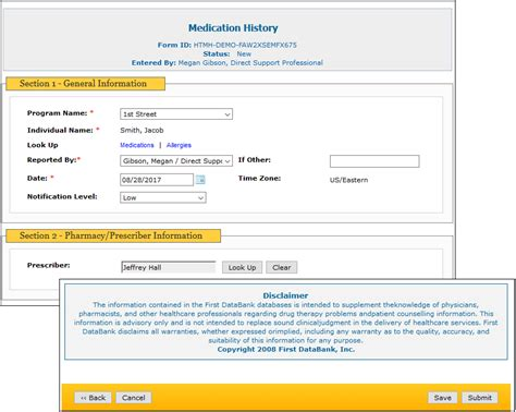 medication profile template medication profile