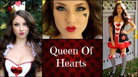 tutorial make up viva quen queen of hearts halloween makeup tutorial youtube
