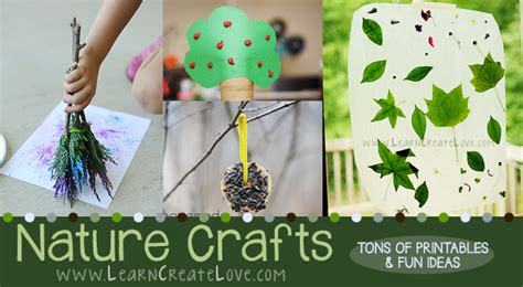 nature craft for nature crafts