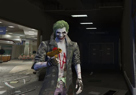 Trening Joger 2 joker from injustice 2 add on ped gta5 mods