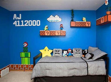 decoracion habitacion gamer mario bros bedroom for my son habitaci 211 n gamer