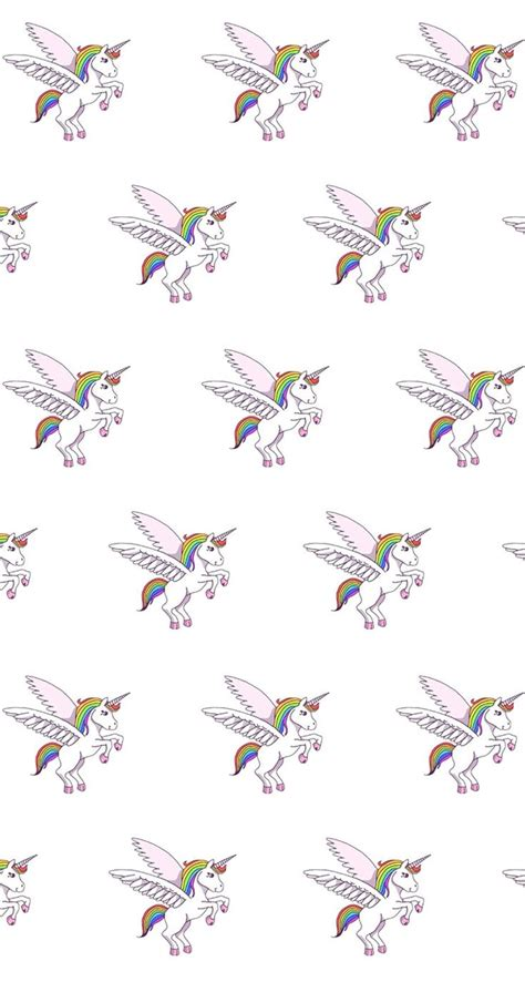 unicorn pattern background unicorn pattern find more kawaii iphone android