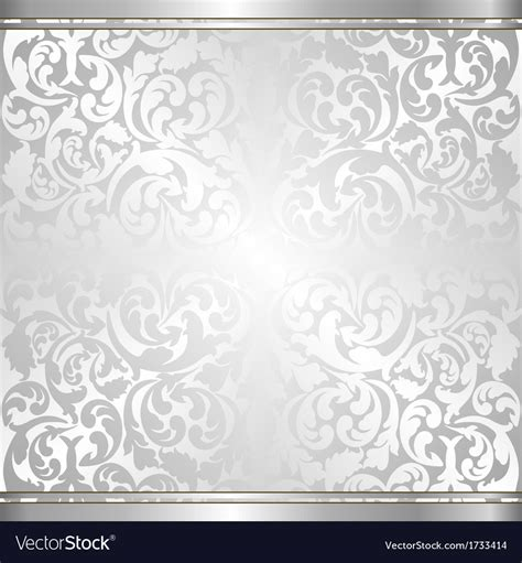 silver layout vector silver background royalty free vector image vectorstock