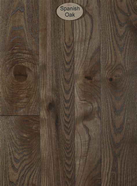 Ash, Natural Character, Spanish Oak Stain   Peachey