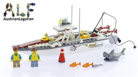lego city fishing boat speed build lego city 60147 fishing boat lego speed build review