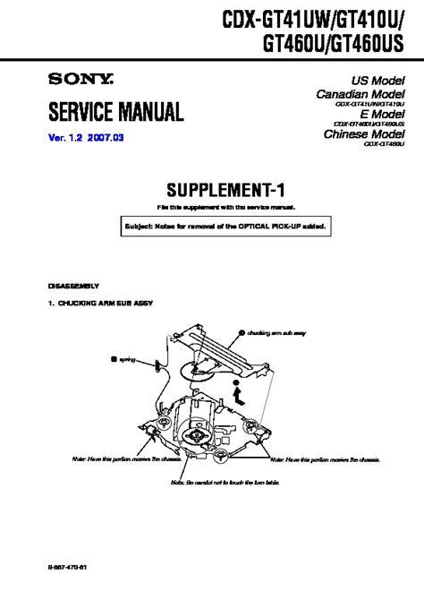 sony cdx gt410u wiring diagram 30 wiring diagram images