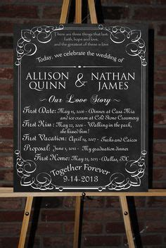 Wedding And Engagement Posters by 1000 Images About Wedding Chalkboard Poster On
