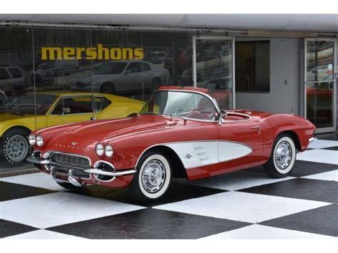 1961 chevrolet corvette 4 speed manual 2 door convertible