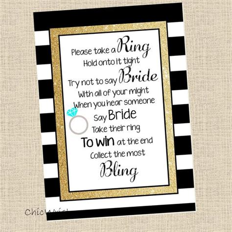 Put A Ring On It Bridal Shower Printable