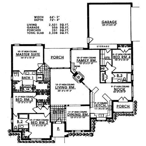 back bathroom floor plan revisions dscn home creative european style house plan 4 beds 3 baths 2531 sq ft plan
