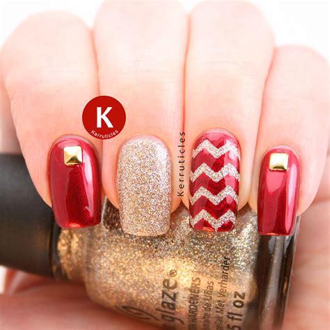imagenes de uñas pintadas de rojo y negro de 180 u 209 as rojas decoradas u 209 as decoradas nail art