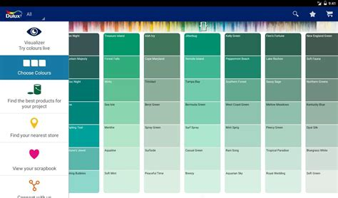 dulux wall paint color chart 0 ideas dulux paint colours