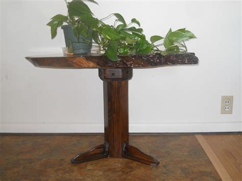 cherry wood accent table custom beautiful cherry wood burl accent table by cyndel