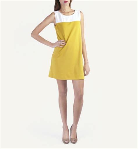 tunic dress cotton colourblock yoke suga suga casual