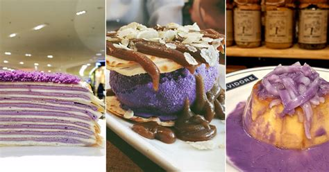 10 ube desserts you can try in metro manila