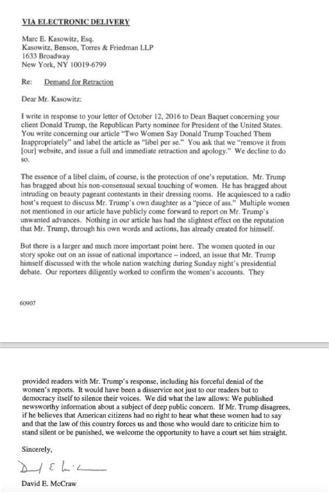Demand Letter Response Time ny times writes amusing response to s huff and puff letter