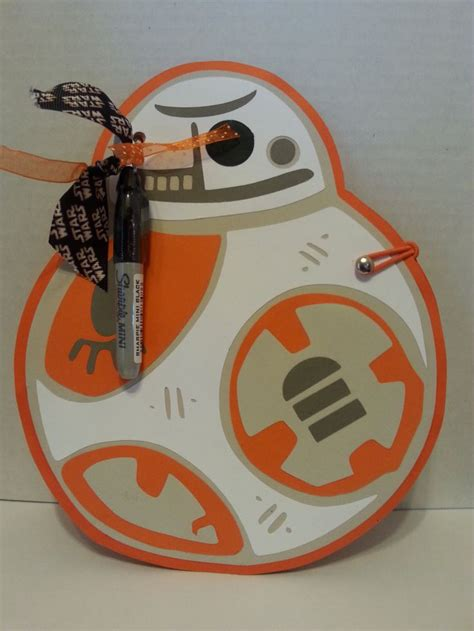 Handmade Disney Autograph Books - wars bb 8 disney autograph book with sharpie boy