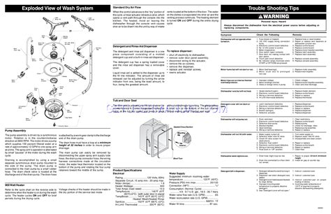 frigidaire dishwasher wiring diagrams free