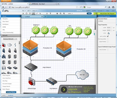 architecture diagram visio image gallery vmware diagrams