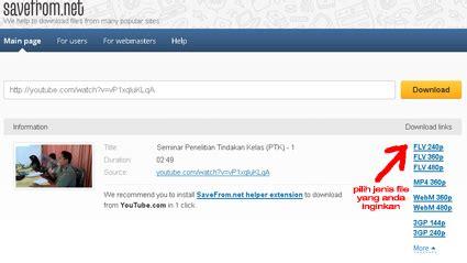 download youtube menggunakan ss cara terbaru dan mudah download video youtube rangkuman