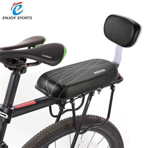 rack mounted child bike seat bicycle child seat cover bike rack cushion for kid 039 s
