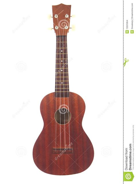 A Classic Ukulele Isolated On White Background Stock Images   Image: 13531854