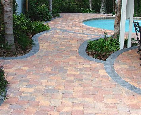 pavers  plants  trees outdoor patio