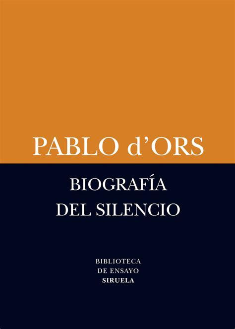 libro el palacio del silencio blog de 193 lvaro valverde pablo d ors medita