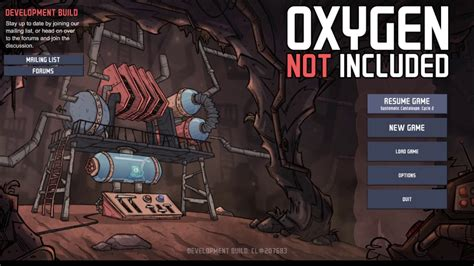 Oxygen Not Included Detox Air by Oxygen Not Included Debug Menu Instant Build Infinite
