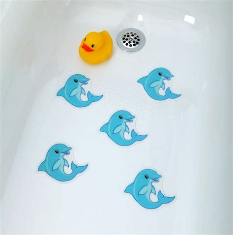 non slip bathtub decals non slip bathtub mats bathroom accessories bathtub stickers dolphins safety decals