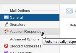 mail yahoo business how to set a vacation response in yahoo business mail
